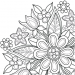 Flowers Mandala coloring book 7.3.6