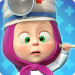 Masha and the Bear: Free Animal Games for Kids  4.0.6 for Android