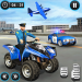 US Police ATV Quad Bike Plane Transport Game 1.1.16