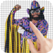'90s Wrestlers Color by Number – Pixel Art Game 1.1