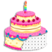 Birthday Cake Coloring Book – Color By Number  2.0