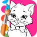 Cats Coloring Pages 1.4.3.3
