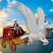 Flying Horse Taxi City Transport: Horse Games 2020  2.0