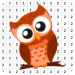 Owl Cute Color By Number – Pixel Art 3.0