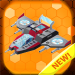 Spaceship color by number : Spacecraft coloring 1.3