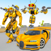 Bee Robot Car Transformation Game: Robot Car Games 2.24