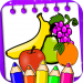 Coloring Fruits and Drawing Books 1.0.3