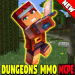 MMO Map DUNGEONS for Minecraft 1.8