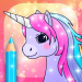 Unicorn Coloring Pages with Animation Effects 3.2