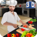 Virtual Chef Cooking Game 3D: Super Chef Kitchen 2.4.0