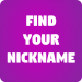 Find Your Nickname 4
