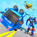 Flying Bus Robot Transform War- Police Robot Games 1.0.11