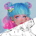 Sweet Coloring Color by Number Painting Game  1.0.31