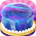 Galaxy Mirror Glaze Cake – Sweet Desserts Maker 1.3