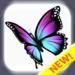 Butterfly color by number : Bugs coloring book 1.4