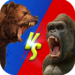 Wild Gorilla vs Wild Bear Ring Fighting: Wild Hunt 0.3