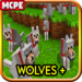 Wolves ++ Mod for Minecraft PE 1.7