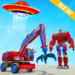 Excavator Robot Car Game – Elephant Robot Games 3d  1.2.0 for Android