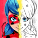 Miraculous Ladybug & Cat Noir. Color by number  1.1.2 for Android