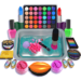 DIY Makeup Slime Maker! Super Slime Simulations 2.1