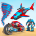 Shark Robot Car Game – Tornado Robot Bike Games 3d  1.1.2