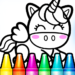Rainbow Glitter Drawing Book – Coloring Classes 1.0