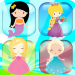 Memory matching games 2-6 year old games for girls 1,136