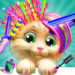 Pet Kitty Hair Salon Hairstyle Makeover 4.6