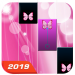 Piano Rose Tile Butterfly 2021 1